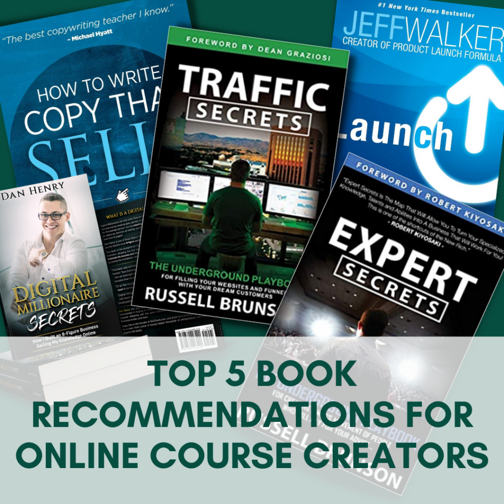 How to Sell Online Courses: Top 5 Book Recommendations for Online Course Creators