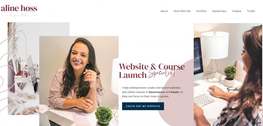 Alline Hoss Website & Course Launch Specialist