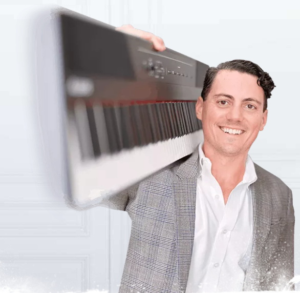 How Jacques Hopkins makes over 6 figures a month selling his online piano lessons course